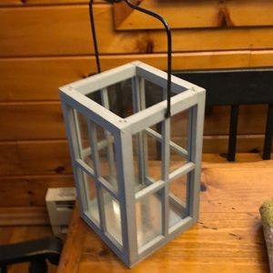 Candle holder. 11 in tall